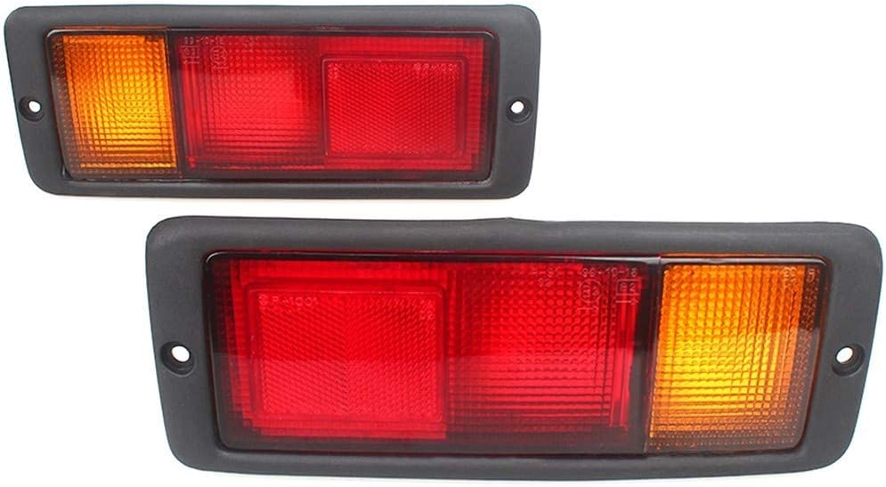 DRL Car luci correnti di giorno For Accessori auto Pajero Montero 2pcs coda posteriore della luce della lampada MB124963 MB124964 214-1946L-UE 214-1946R-UE Fanale posteriore Energia impermeabile di al