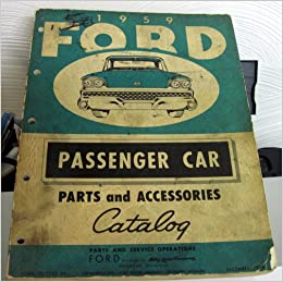 1959 ford passenger car parts and accessories catalog. Black Bedroom Furniture Sets. Home Design Ideas