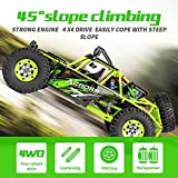 WLtoys RC Cars 1/12 Scale 2.4G 4WD High Speed Electric All Terrain Off-Road Rock Crawler Climbing Buggy RTR - Best Christmas Gift for Kids and Adults