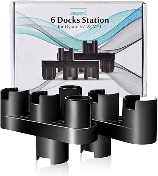 KEEPOW Soporte de Accesorios para Dyson V7, V8, V10, Estación de ...