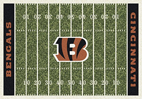 - Cincinnati Bengals NFL Team Home Field Area Rug by Milliken, 7'8