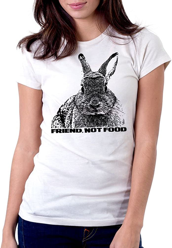 Women's Bunny - Friend Not Food Tee T-Shirt
