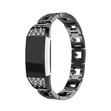 Amazon.com: Fitbit Charge 2 banda de reloj inteligente ...