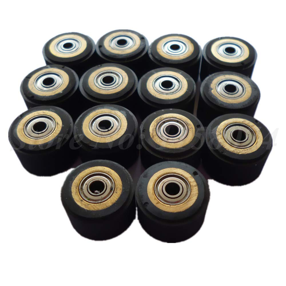 ILLIO Pack Of 10 Pinch Roller For Roland Vinyl Plotter Cutter 31116mm Electronic Cutting Machines Cutting Plotter Wheel Bearing New NEW by ILLIO (Image #2)