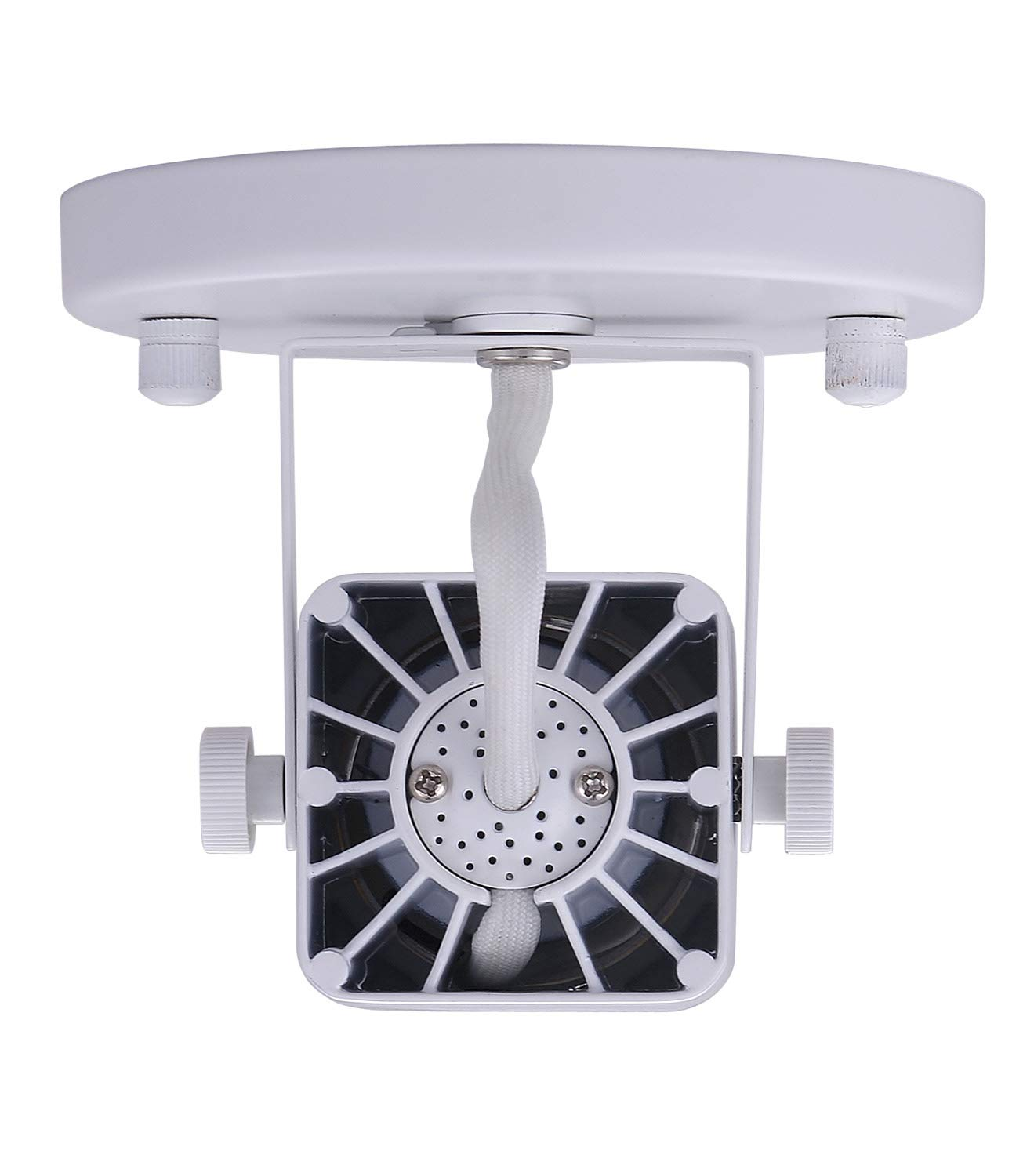 Cloudy Bay LED Ceiling Light Fixture Spot,CRI90+ Warm White Dimmable,White Finish by Cloudy Bay (Image #5)