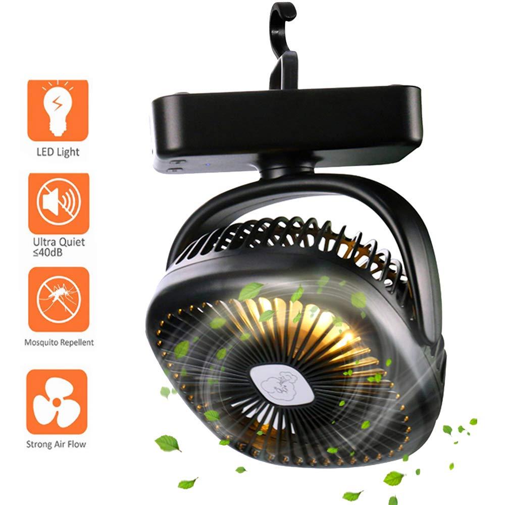 Lixada Mini Ventilatore da Viaggio Portatile