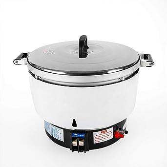 Amazon.com: Olla de arroz a gas natural, 8 KW, olla de arroz ...