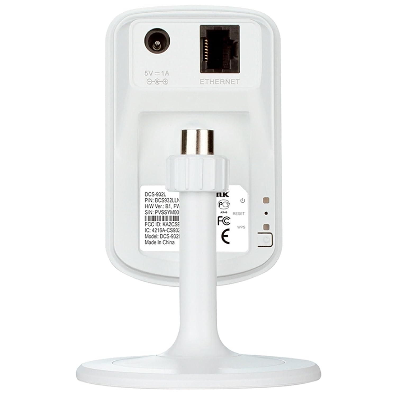 D-Link DCS-932L-TWIN - Kit 2 cámaras WiFi y Ethernet videovigilancia (IP con micrófono y visión nocturna, compatibles con app mydlink - iOS y Android): ...