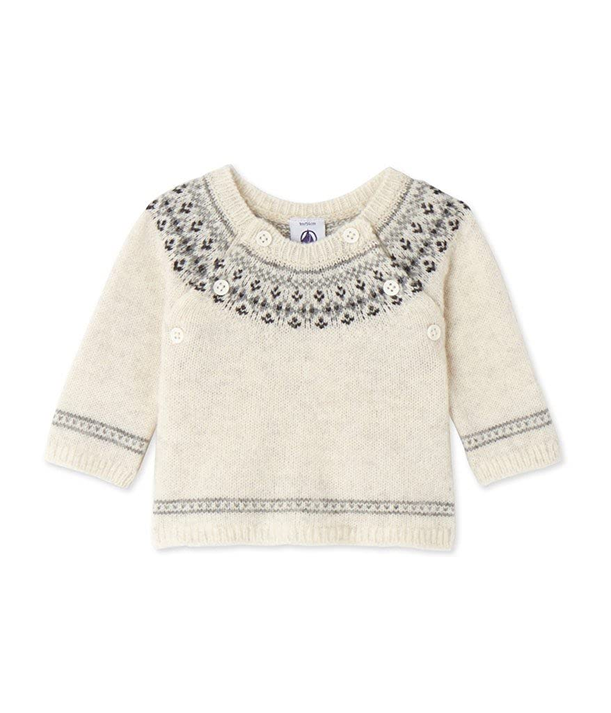 Petit Bateau Unisex Baby Pullover Pull 24849