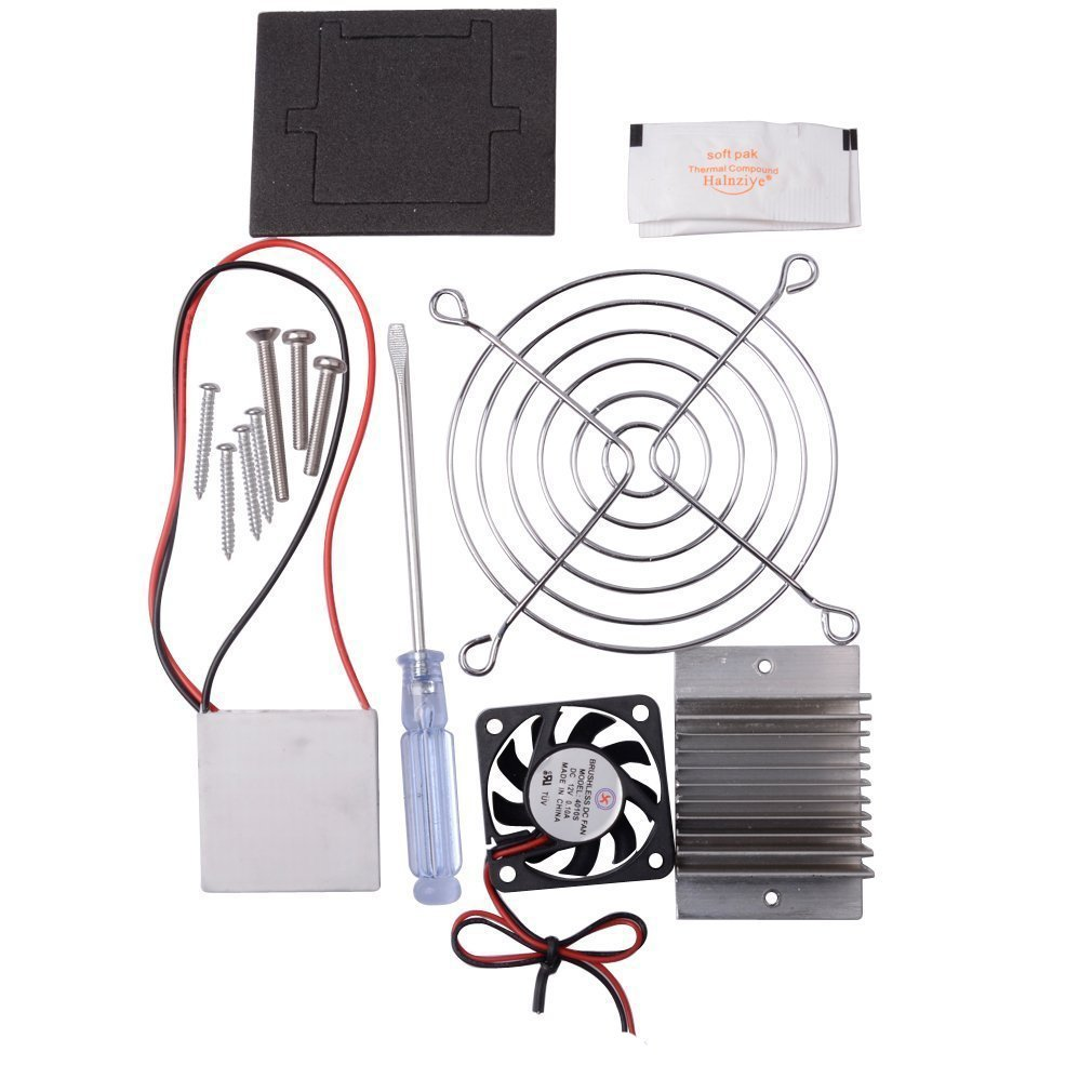 CHENBO TM Thermoelectric Cooler Peltier Tec1-12706 Kit Cold Plate Refrigeration Space Cooling Study Kit,Cooling System Learning Packages by CHENBO (Image #3)