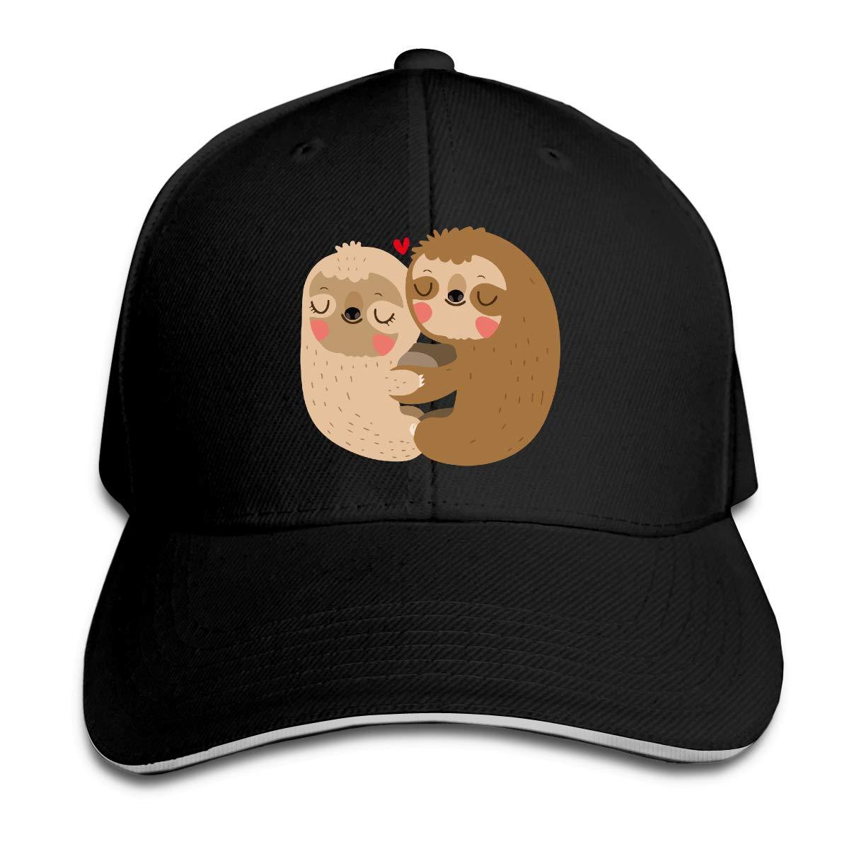 Mermaid Sloth Outdoor Snapback Sandwich Cap Adjustable Baseball Hat Street Rapper Hat