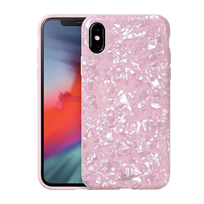 e7a9ddc3f5 Amazon.com: LAUT - Pearl Series for iPhone Xs Max | Mother of Pearl ...