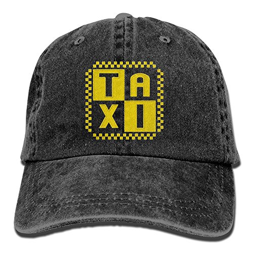 Men Cap Unisex Embroidery Adjustable Snapback Dad Hat - Taxi Driver Cab (Cab Driver Hats)