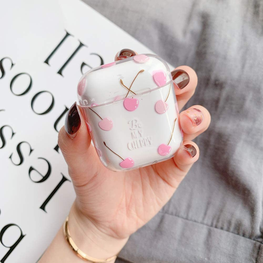 Amazon Com Airpods Case Cute Airpods Cover Jandm Clear Smooth