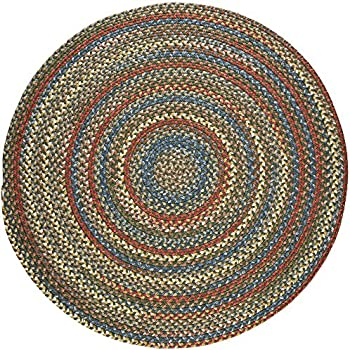 Amazon Com Super Area Rugs Gemstone Textured Braided Rug