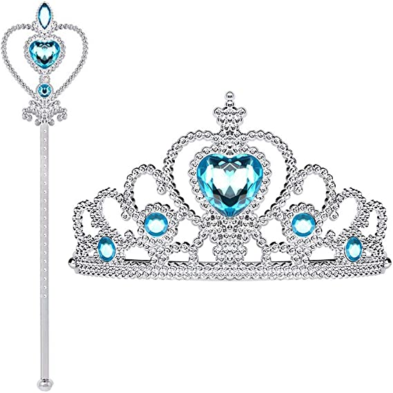 Jewelry Necklace Earring Comb Shoes Crown Accessory For  Dolls Set US