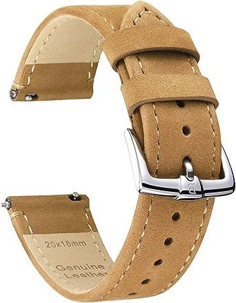 bracelet cuir montre homme 22mm