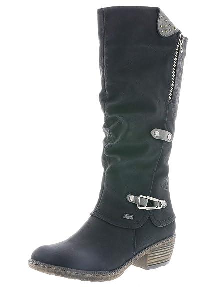 best service 9b7cb f4e8b Rieker Women Boots 93752, Ladies Winter Boots,riekerTEX