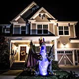 Halloween Inflatable Animated Projection Kaleidoscope Dragon W/ Moving Wings By Gemmy