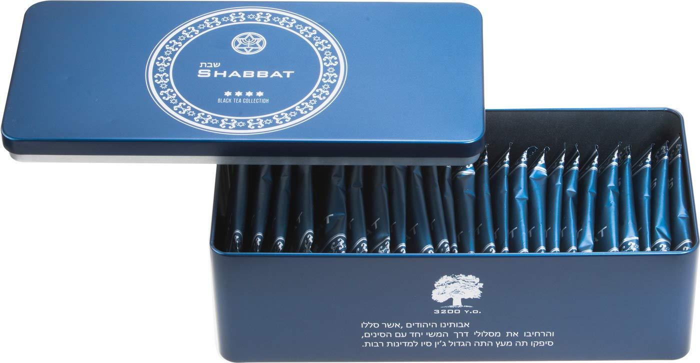 CDM product Black Tea SHABBAT Classical 58, loose tea leaves, 4 g x 25 bags big image