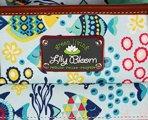 Lily Bloom Satchel (One Size, Aquarium Life)