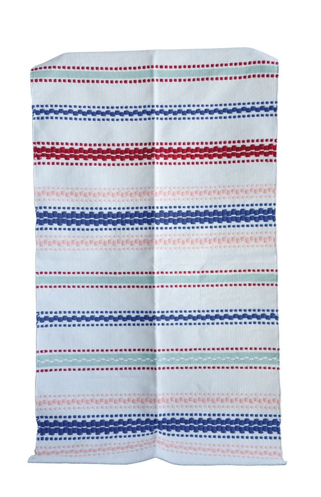 Heart of America Cotton Striped Rug