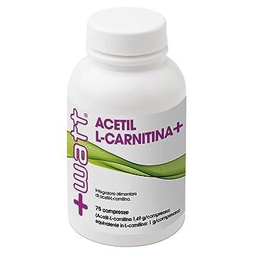 +WATT ACETIL L-CARNITINA 75 CPR: Amazon.es: Salud y cuidado personal
