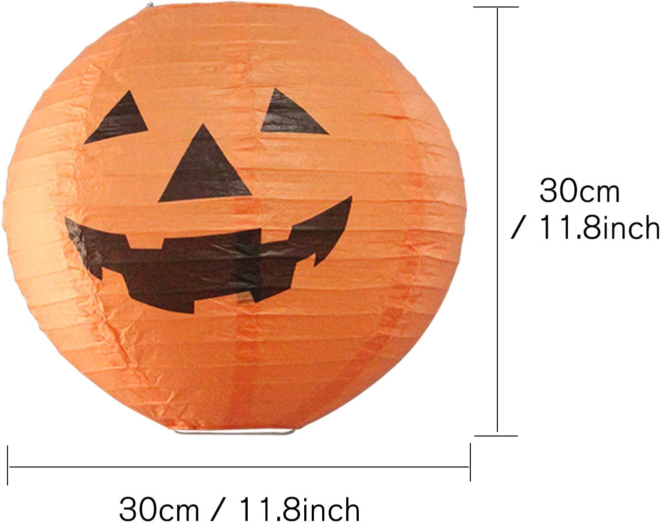 4 Pieces Halloween Pumpkin Hats Jack-O-Lantern Hats Orange Pumpkin Caps for Halloween Trick-or-Treat Birthday Party Favors