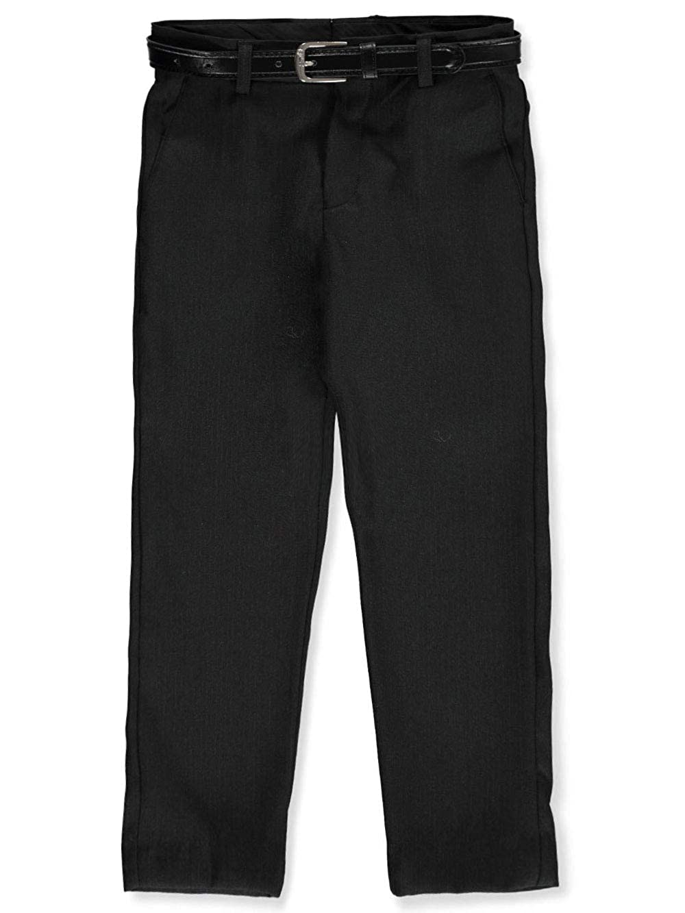 Alberto Danelli Boys Belted Flat Front Dress Pants