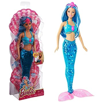 Barbie Meerjungfrau Puppe Fairytale Blau Abnehmbare