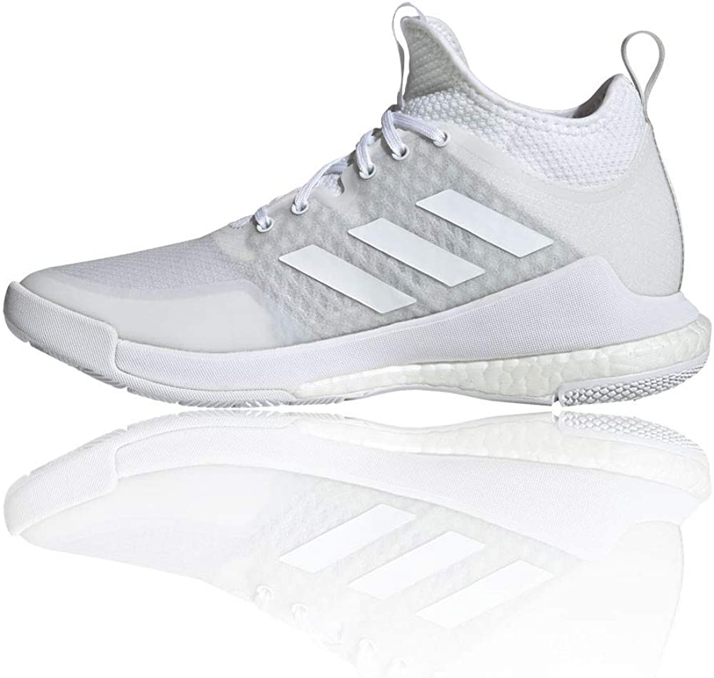 adidas Crazyflight Mid, Zapatillas para Mujer Ftwbla kwX3w