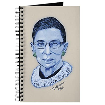 amazon com cafepress notorious rbg ii spiral bound journal