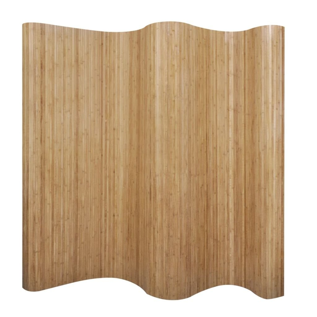 VidaXL Bambus Paravent Raumteiler Natur 250×195 cm