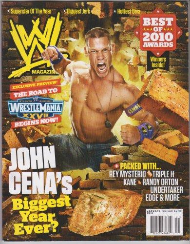 WWE Magazine January 2011 (Hardcore Wrestling Game)
