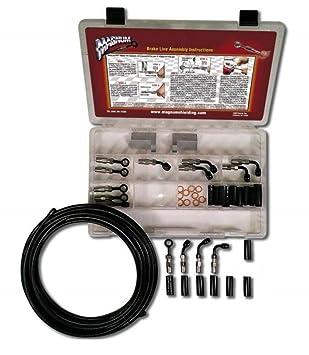 Magnum construir su propio Kit constructor de freno línea básica - negro 499005: Amazon.es: Coche y moto