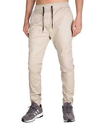 9939ef2769f4 ITALY MORN Men s Casual Jogger Pants Slim Fit Stretch Sweatpants at ...