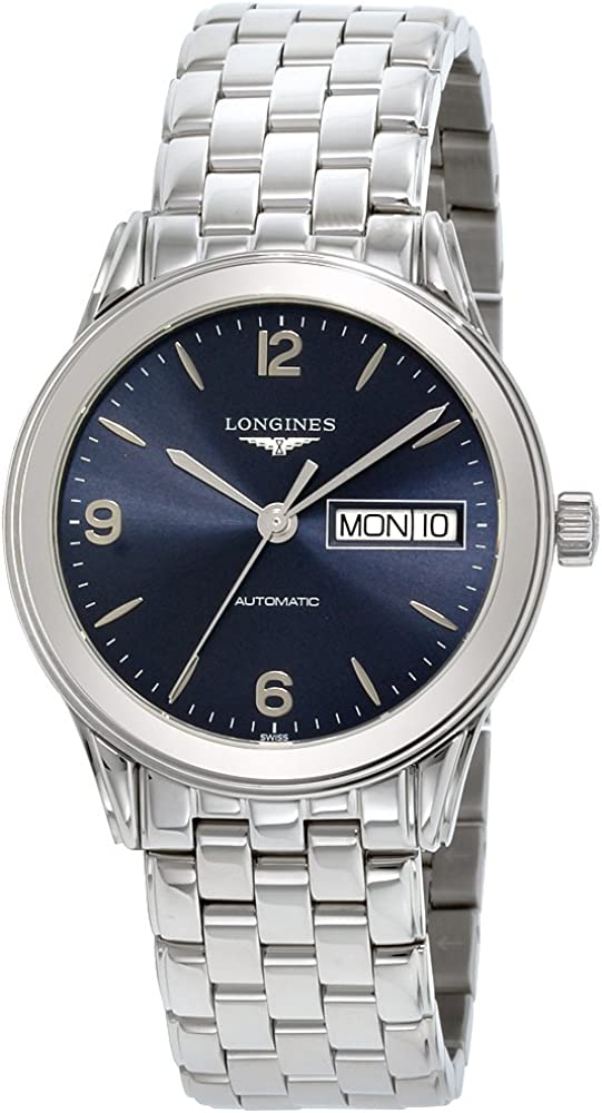 Longines Flagship Blue Dial Stainless Steel Men's Watch L47994966