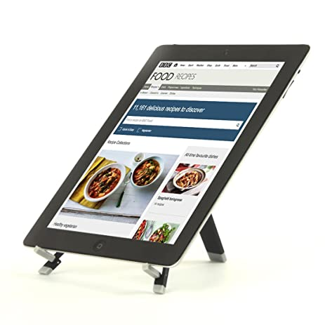 Portable Kitchen Tablet Stands, Cookbook Stand For IPads, IPad Mini,  IPhone, Surface