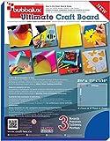 "Floortex 8 1/2"" x 11"" 2mm Blue Bubbalux Ultimate Craft Foam Board (3 pack)"