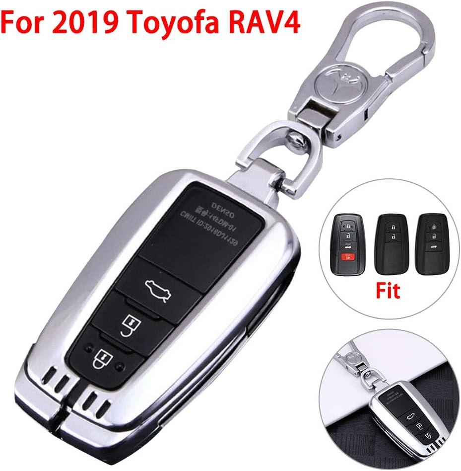 housesweet Coque de bo/îtier en Alliage daluminium pour Toyota RAV4 2019