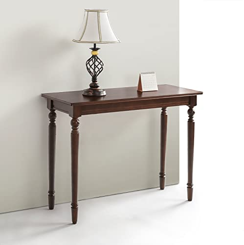 Zinus Zaalonge Bordeaux Wood Console Table Entryway Table
