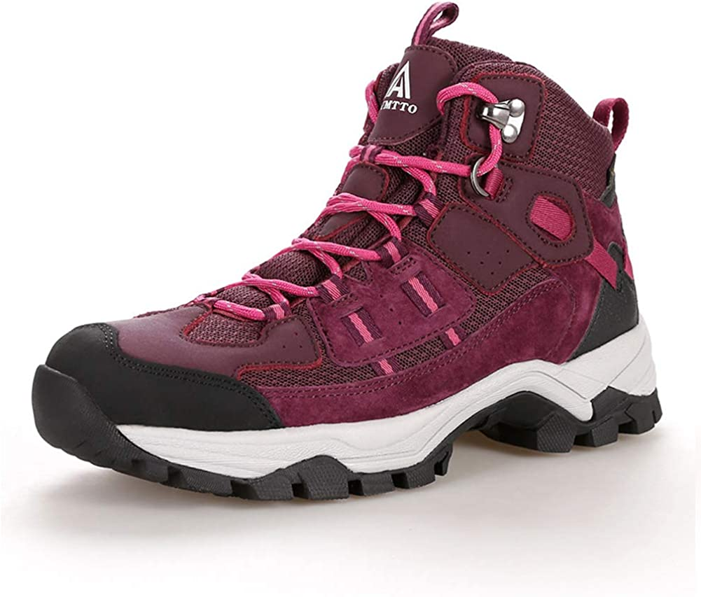 Hiking Shoes Non-Slip wear-Resistant Sports Walking Shoes Cross-Country Running Shoes Breathable Lightweight Outdoor shoes-Wineredvelvet-37