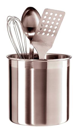 Merveilleux Amazon.com: Oggi 7211 Jumbo Stainless Steel Utensil Holder: Kitchen U0026 Dining