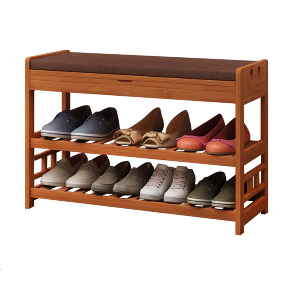 BSNOWF-シューズラック 靴ラックバンブーソリッドウッド防塵戸口シューズベンチスツールヨーロピアンスタイルモダンミニマリスト ( 色 : B , サイズ さいず : 70センチメートル ) B079ZRFC79 70センチメートル|B B 70センチメートル