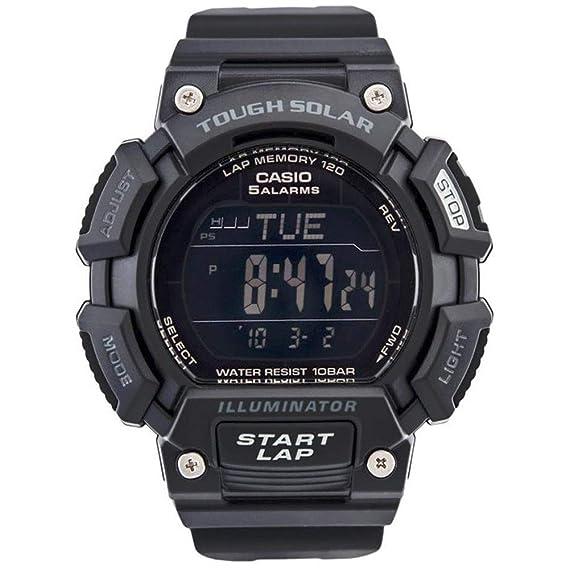 Casio Stl-s-110h-1b2 Reloj Digital para Hombre Colección Sports Caja De Resina Esfera Color Negro: Amazon.es: Relojes