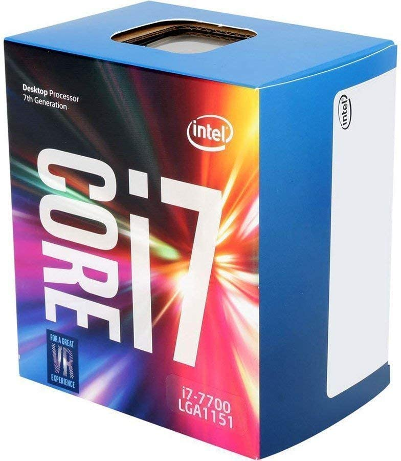 Intel Core i7-7700 Desktop Processor 4 Cores up to 4.2 GHzLGA 1151 100/200 Series 65W