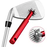 Golf Club Groove Sharpener Tool with 6 Cutters, Vancle Golf Club Re-Grooving Cleaning Tool 6-Tip, Golf Accessories