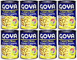 Canary Beans Frijol Canario Canned Enlatado 8 cans pack
