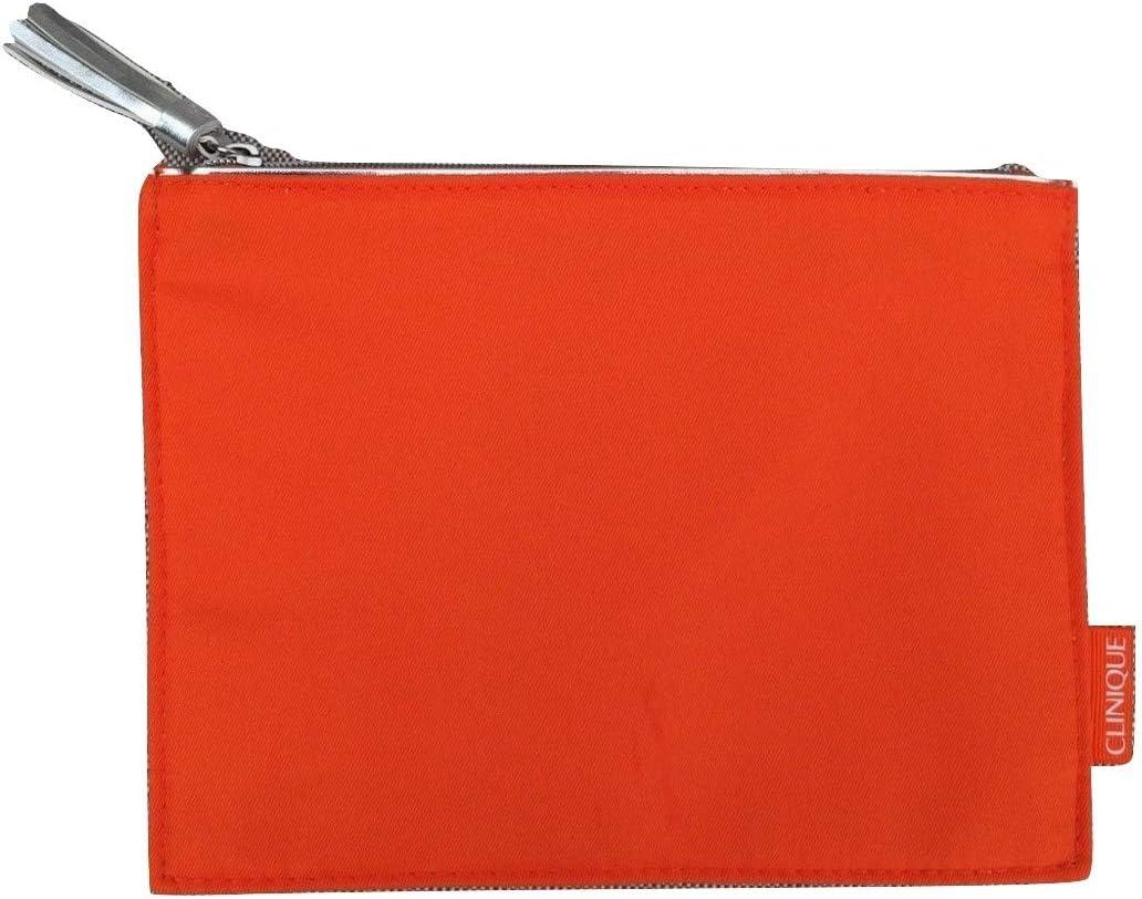 Clinique - Neceser para maquillaje, color naranja: Amazon.es: Belleza