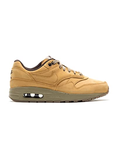 buy popular d4321 0ae37 Nike Air Max 1 LTR PRM (GS) Running Trainers 888166 Sneakers Shoes (uk